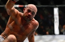 UFC star Cathal Pendred is hungry for another big win... and a belated Christmas dinner