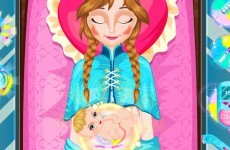 Like Frozen? There's now an unauthorised app in which you can deliver Anna's baby