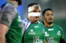 Nathan White made a bruising return for Connacht against Leinster 'A' today