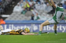 Donal O'Grady - 'My gut instinct said I have to bring him down or else the match is over'
