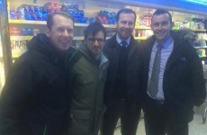 Oh, just Will from the Inbetweeners chilling in Swords today