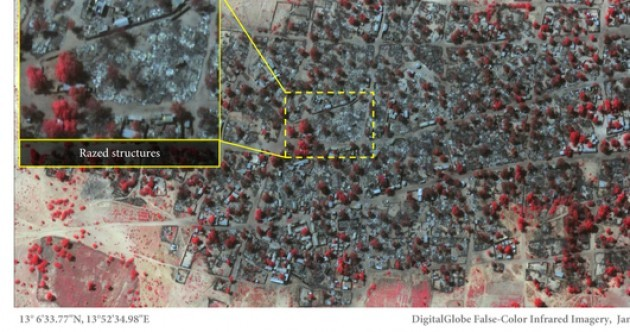 These images show the devastation caused by Boko Haram