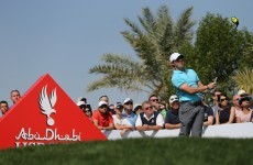 Rory McIlroy has only gone and bagged first professional hole-in-one in Abu Dhabi