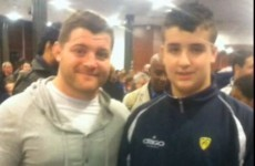 Clermont have an 11-year-old youth player who's almost bigger than some of their pack