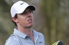'I feel like punching myself' - McIlroy fumes as he drops well off the pace in Abu Dhabi