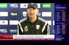 A fire alarm in the Sky studio left viewers with a never-ending Tony Pulis interview