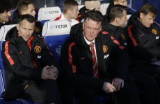 Louis van Gaal remains adamant he won't change his formation because fans ask for it