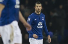 Gary Neville brands Kevin Mirallas 'despicable' after his penalty miss