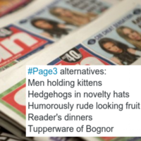 11 excellent responses to the Page 3 speculation