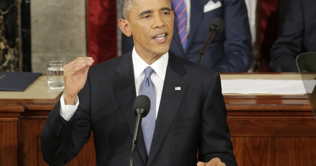 Barack Obama's State of the Union address last night was unexpectedly feisty