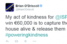 We can totally get on board with Brian O'Driscoll and Amy Huberman's #PoweringKindness acts