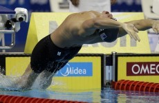 Lochte nabs third consecutive gold at Swimming Worlds