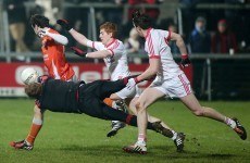 Tyrone beat Armagh to close in on another McKenna Cup four-in-a-row