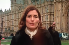 ITV news reporter photobombed by man carrying dead squirrel