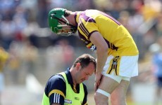 After 5 operations and 48 days in hospital, Tomás Waters is back as captain of the Wexford hurlers