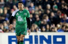 Muliaina named as captain - here's the Connacht team to face La Rochelle