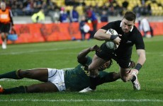 All Blacks blow South Africa away