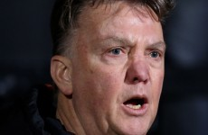 Van Gaal turns the blame on the pitch, the referee and everything else in Cambridge
