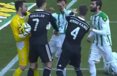 Bebe comes close and Ronaldo sent off before Bale grabs last-minute winner