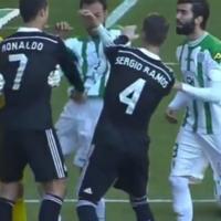 Bebe comes close and Ronaldo sent off before Bale grabs last-minute winner
