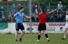 Michael Darragh MacAuley was sent-off yesterday but any suspension won't kick in until 2016