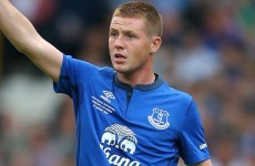 Good news for Ireland as James McCarthy poised to return from injury