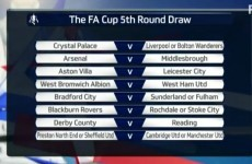 Arsenal, Man United and Liverpool all avoid each other in FA Cup fifth round draw