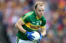 Darran O'Sullivan has given up his day job to concentrate on Kerry full-time