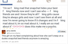 Teen girls are freaking out over the disappearance of Snapchat's creeptastic 'best friends' feature