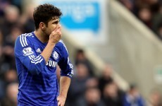 Diego Costa charged with violent conduct by the FA, likely to miss Man City game