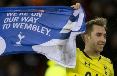 'Just give me the ball,' Eriksen tells Spurs