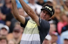 Bubbbbbaaaaa Watson made an absolute mockery of a par-four at the Phoenix Open