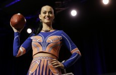 Katy Perry delivered the perfect one-liner at her Super Bowl press conference