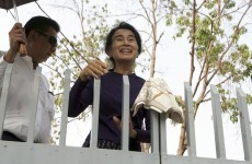 Piece of history for sale as Aung San Suu Kyi's house gate goes up for auction