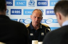 Robinson names starting XV for Irish test