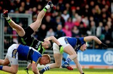 Broken collarbone and concussion made for tough league opener for Mayo forward