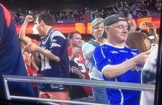 Did you spot the Cavan jersey at last night's Super Bowl?