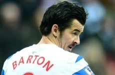 Joey Barton rages at QPR team-mates: 'It's the Premier League, not the 'f**king about league''