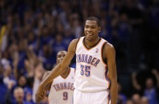 Kevin Durant's heroics prompt court invasion in Harlem