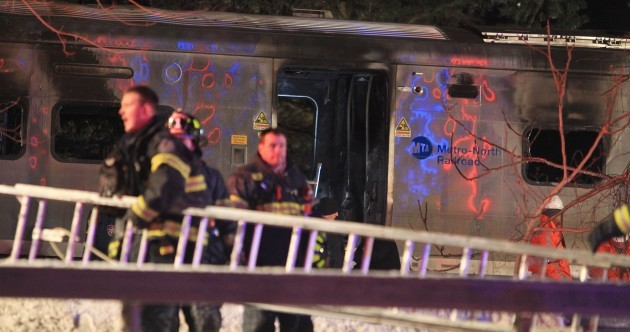 Seven killed as New York train hits SUV at level crossing
