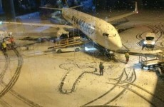 The Ryanair 'Dublin Snow Penis' is going viral worldwide – but it's not in Dublin*
