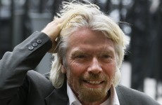 Richard Branson had to write Gay Byrne's name on his hand to remember who he was