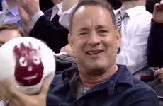 Tom Hanks was finally reunited with Wilson last night