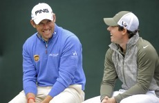 Lee Westwood will be joining Rory and Rickie at Royal County Down in May