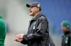 Could Joe Schmidt coach New Zealand one day? A legendary All Black thinks he has the potential