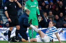 Richard Dunne may have played his last game of the season as QPR confirm ligament damage