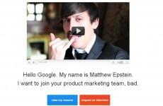 Google! Please hire me!
