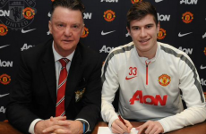 Paddy McNair signs new contract to stay at Man United until 2017