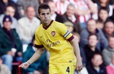 Arsenal claim Fabregas still in the picture