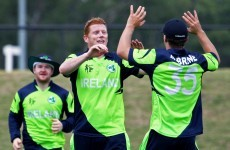 Ireland's cricketers had a big win today in their final World Cup warm-up